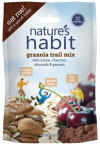 Granola Trail Mix with Cocoa, Cherries, Almonds & Pecans 4oz. image for natures habit